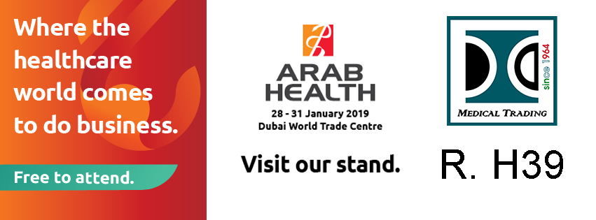 MEDICAL TRADING to ARAB HEALTH: Sheikh Rashid Hall - H39